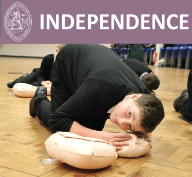 RichmondSchool - Values - Independence
