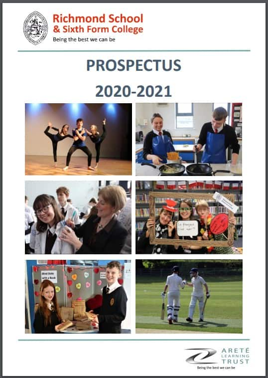New school prospectus